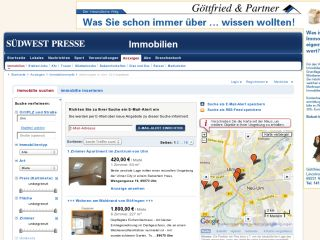 Attraktives Immobilien Angebot in der Südwestpresse.